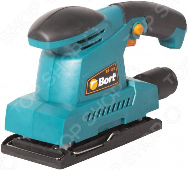 Машина шлифовальная вибрационная Bort BS-155 Машина шлифовальная вибрационная Bort BS-155 /