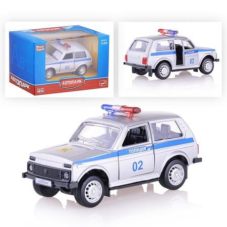 Купить Машина инерционная PlaySmart «Полиция»