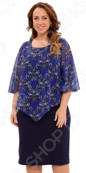 Платье Матекс «На крыльях счастья». Цвет: синий платье матекс уютная цвет синий