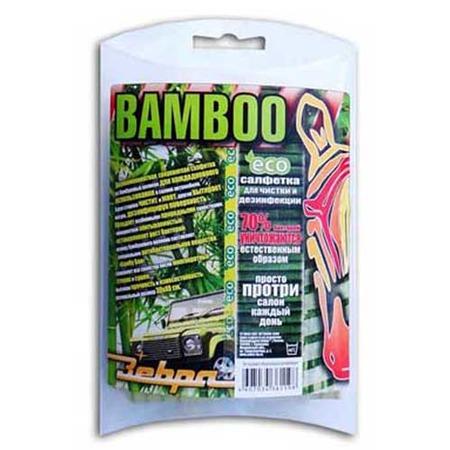 Купить Салфетка универсальная двухкомпонентная Зебра Z-1198 Bamboo