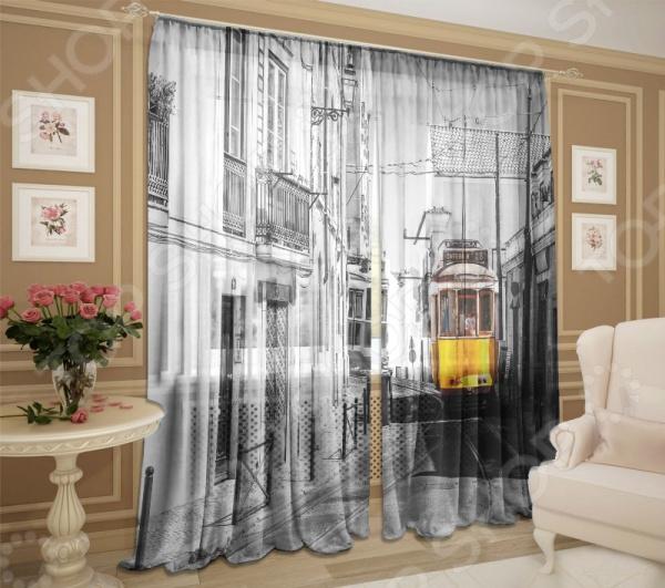 Комплект фототюля ТамиТекс «Трамвай» комплект фототюля тамитекс трамвай