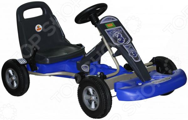 Машина-каталка Wader с педалями «Карт» каталка трактор с педалями turbo 52674
