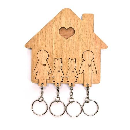 Купить Ключница Mimi «Семья с двумя дочками»