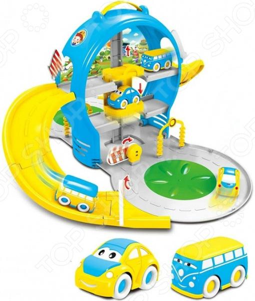 Набор игровой для мальчика с машинками «Парковка многоуровневая»