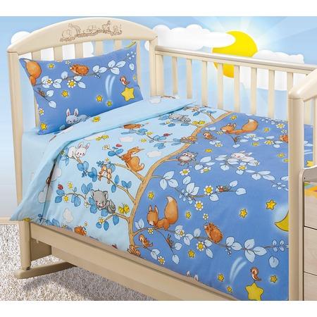 Купить Ясельный комплект постельного белья Бамбино «День и ночь»