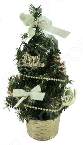 ING-005B Ель декоративная Irit Merry Christmas. Высота: 20 см
