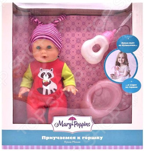 Кукла Mary Poppins Apple Forest «Милли. Приучаемся к горшку»