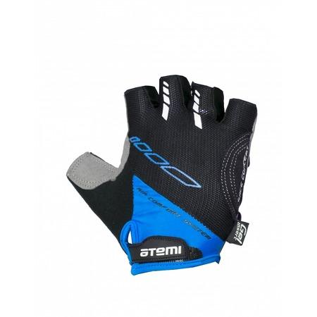 Купить Перчатки велосипедные вентилируемые Atemi AGC-04. Цвет: синий