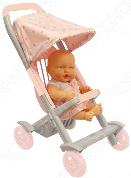 Коляска прогулочная для куклы Огонек С-1497