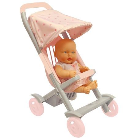 Купить Коляска прогулочная для куклы Огонек С-1497