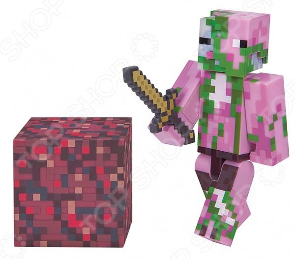 Набор фигурок игрушечных Minecraft «Зомби» набор игровой c фигуркой и аксессуарами minecraft зомби