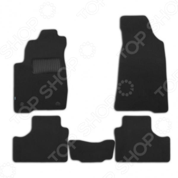 Комплект ковриков в салон автомобиля Klever Premium для Chevrolet Niva кроссовер, 2009 комплект ковриков в салон автомобиля novline autofamily chevrolet niva 2009 4