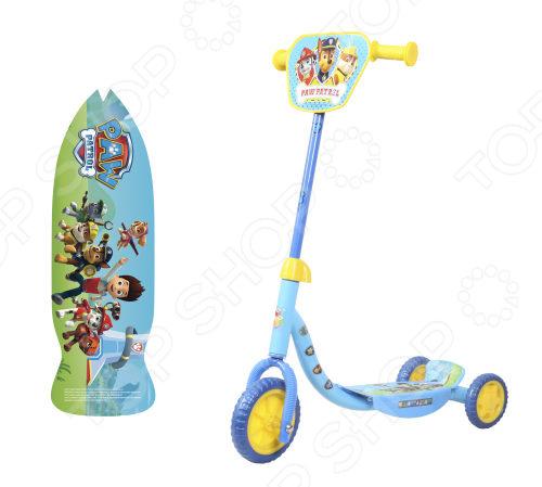 Самокат трехколесный 1 Toy «Щенячий патруль» самокат трехколесный 1 toy томас и его друзья
