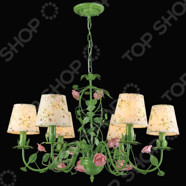 Люстра потолочная Natali Kovaltseva Rose 11490/6 Green