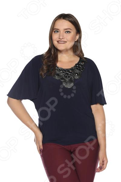 Блуза Pretty Woman «Сияние женщины». Цвет: синий блуза pretty woman волшебный взгляд цвет темно синий