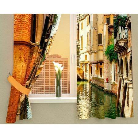 Купить Фотошторы Сирень «Солнечный день в Венеции»