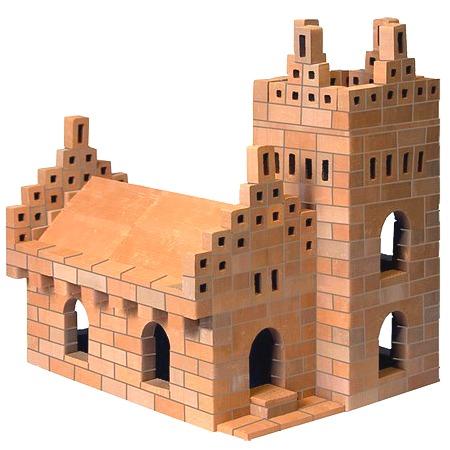 Купить Конструктор из глины Brick Master «Кирпичики. Собор 5 в 1»