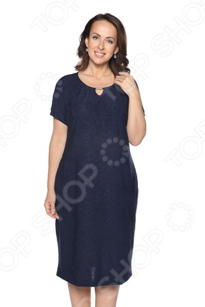 Платье Лауме-Лайн «Чудесная песня». Цвет: темно-синий блуза лауме лайн сад чудес цвет темно синий