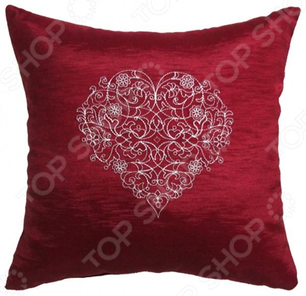 Подушка декоративная Primavelle с вышивкой «Амор»