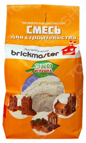 Смесь для конструктора из глины Brick Master 001