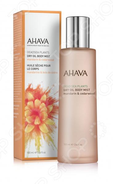 Масло для тела сухое Ahava Deadsea Plants «Мандарин и кедр» ahava deadsea plants dry oil body mist сухое масло для тела опунция и моринга 100 мл