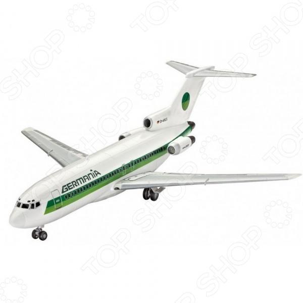 Сборная модель гражданского самолета Revell Boeing 727-100 авиакомпании Germania