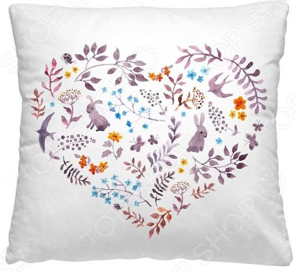 Подушка декоративная Волшебная ночь «Сердце»