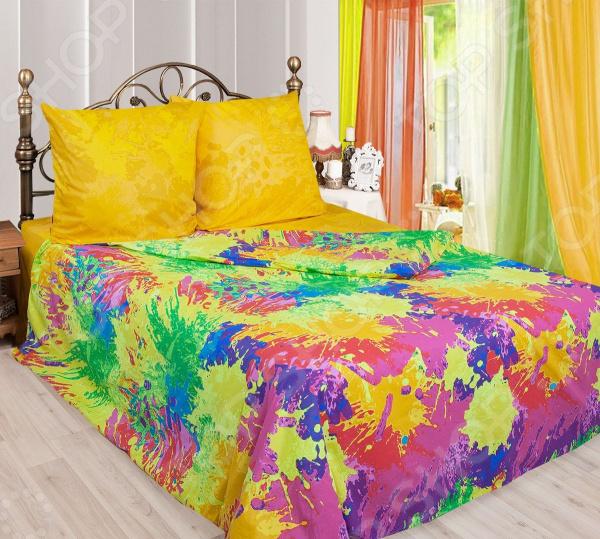 Zakazat.ru: Комплект постельного белья Сова и Жаворонок Oops!. 2-спальный