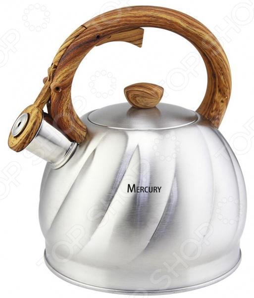 Чайник со свистком Mercury MC-6588