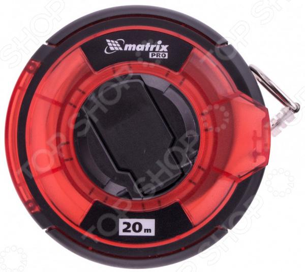 Рулетка геодезическая MATRIX Pro с закрытым корпусом и односторонней шкалой