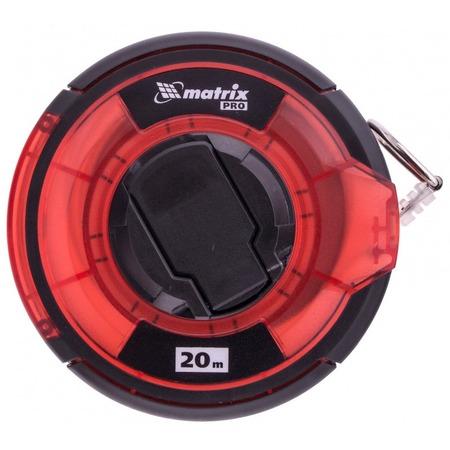 Купить Рулетка геодезическая MATRIX Pro с закрытым корпусом и односторонней шкалой