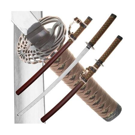 Купить Набор из двух самурайских мечей Dark Age JP-613BR Tsuru