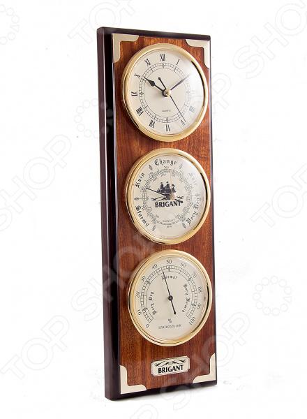 Часы-метеостанция настенные Brigant 28136