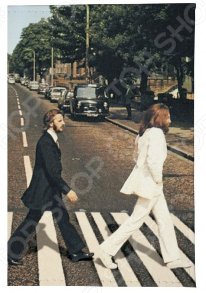 Обложка для паспорта кожаная Mitya Veselkov Abbey Road