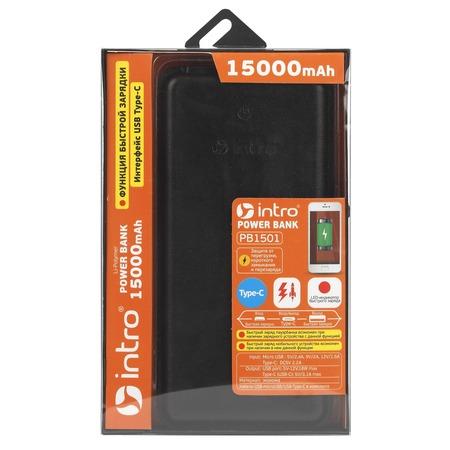 Аккумулятор внешний Intro PB1501