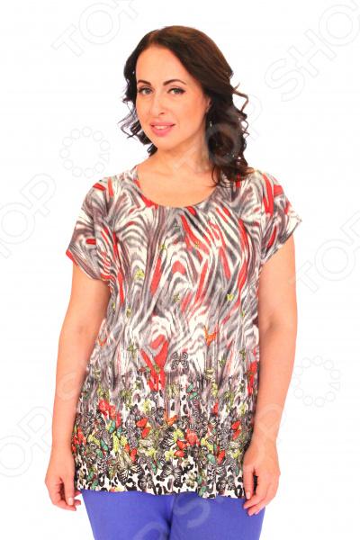 Блуза Pretty Woman «Солнечная». Цвет: красный