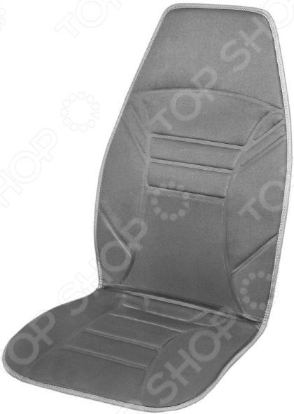 Накидка на сиденье с подогревом SKYWAY со спинкой 118х53 см