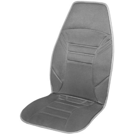 Купить Накидка на сиденье с подогревом SKYWAY со спинкой 118х53 см