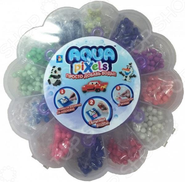 Набор для детского творчества 1 Toy Aqua pixels