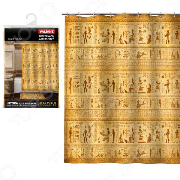 Штора для ванной Valiant Egypt Papyrus