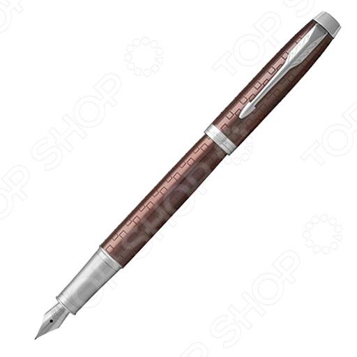 Ручка перьевая Parker IM Premium Brown CT