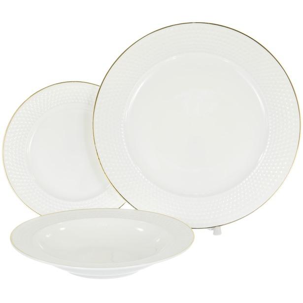фото Набор столовой посуды OlAff «Гольф»