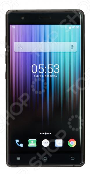 Мобильный телефон NOA H4se «Титан»    /Черный
