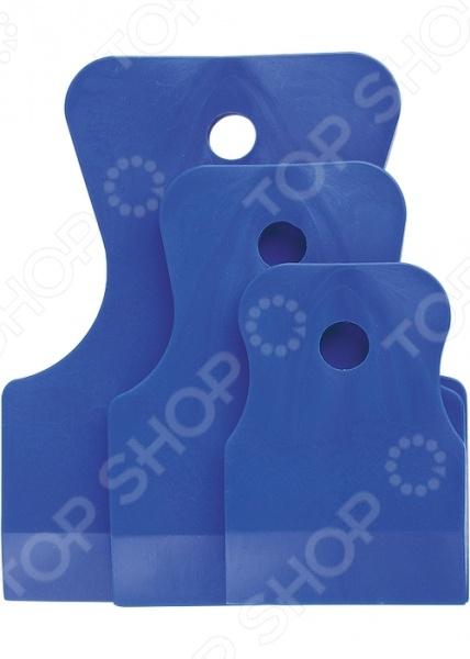 Набор шпателей СИБРТЕХ 85830 набор шпателей sparta белая резина 40 60 80 мм 3 шт