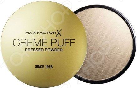 Тональная крем-пудра Max Factor Creme Puff Powder four powder puff set