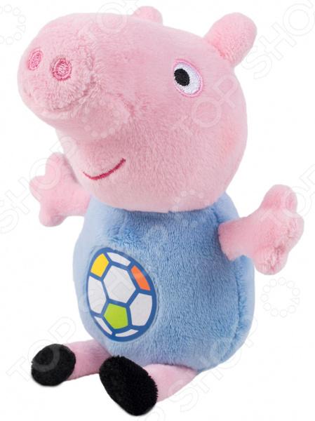 Мягкая игрушка со звуком Peppa Pig «Джордж с мячом»