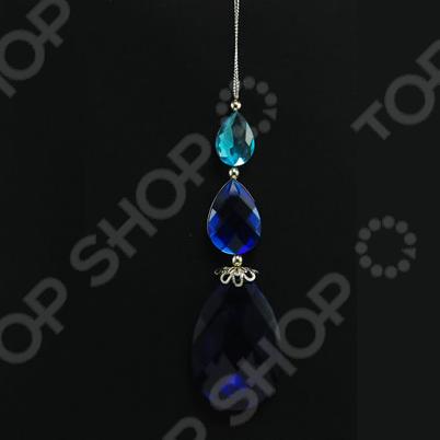 Новогоднее украшение Crystal Deco «Подвеска из камней»