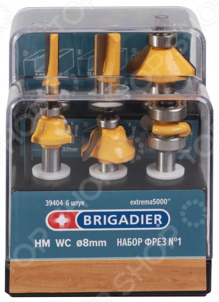 Набор фрез Brigadier 39404