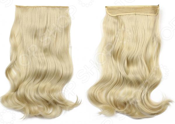 Волосы на силиконовой резинке    /Блонди