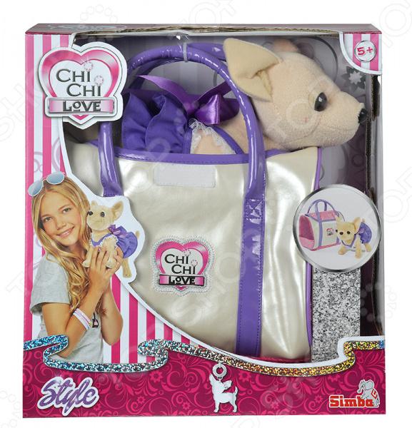 Мягкая игрушка Simba CHI CHI LOVE «Собачка в платье с сумочкой» мягкая игрушка сюрприз собачка рокси и ее щенки just play